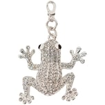 Jewellery Made by Me Big Charm Frosch mit Strass 48x43mm