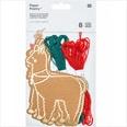 Rico Design Stickkarton Lama braun 8 Stück