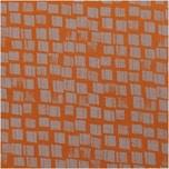 Rico Design Druckstoff Canvas Kästchen braun-grau 50x140cm