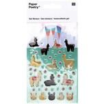 Paper Poetry Gelsticker Lama