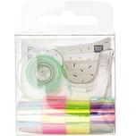 Paper Poetry Mini-Mirror Rainbow Tape Set Regenbogen 12mm 1,8m 5-teilig