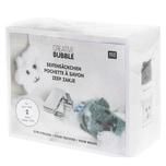 Rico Design Häkelset Creative Bubble Bath Seifensäckchen