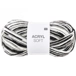Rico Design Acryl Soft 50g 155m schwarz Mix