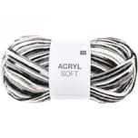 Rico Design Acryl Soft 50g 155m schwarz Mix