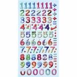 HobbyFun SoftySticker Design Zahlen mehrfarbig