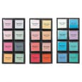 Paper Poetry Tusche-Stempelkissen Set 8 Farben Smoky Colours Mix