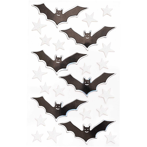 Paper Poetry 3D Sticker Fledermäuse