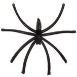 Deko-Spinne schwarz 5cm 12 Stück
