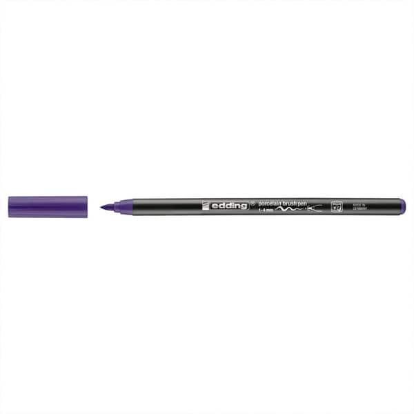 edding 4200 Porzellan-Brushpen violett