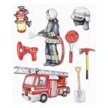 Hobby Fun XXL-Softy-Sticker Feuerwehr