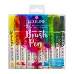 ECOLINE Brush Pen Set 10 Stück Hell