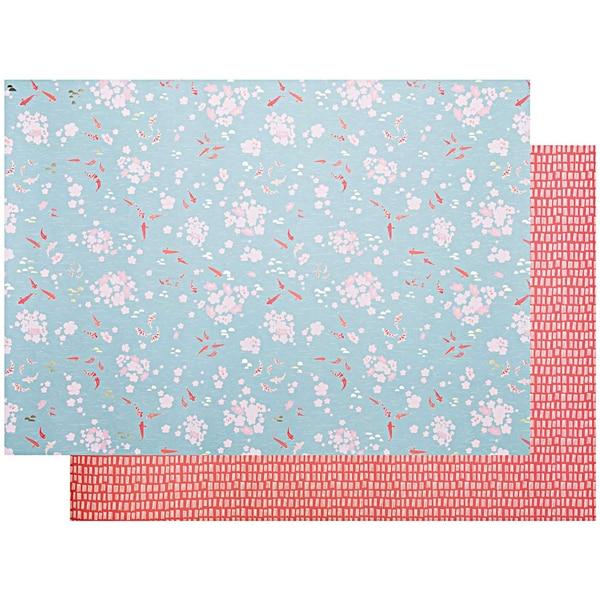 Paper Poetry Motivkarton Jardin Japonais Kois 50x70cm