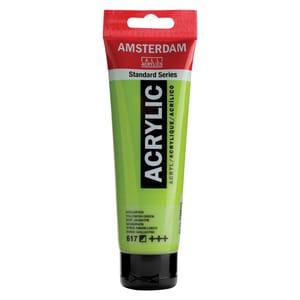 AMSTERDAM Acrylfarbe 120ml gelbgrün