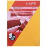 Artoz Doppelkarte S-Line A6 200g/m² 5 Stück goldgelb
