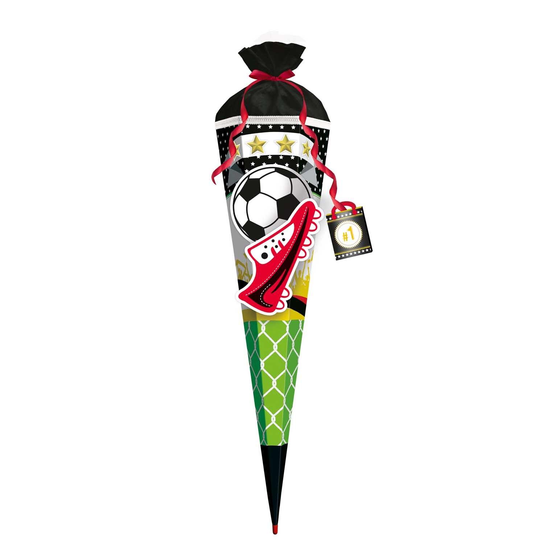 ROTH Schultüten Bastelset Fußball Star 80cm