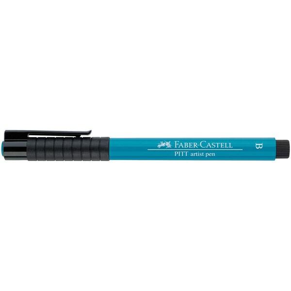 Faber Castell PITT artist pen brush kobalttürkis