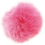 Rico Design Kunstfellbommel 13cm pink