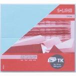 Artoz Tischkarte S-Line 200g/m² 5 Stück hellblau