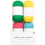 Rico Design Acryl Soft Minis bunt 4x25g