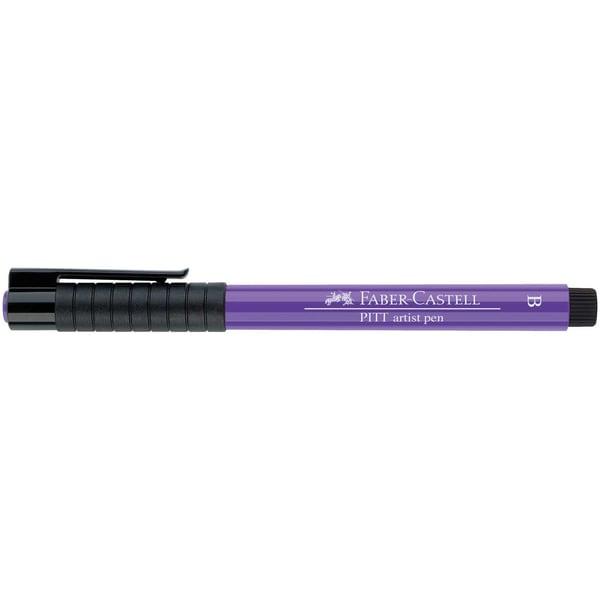 Faber Castell PITT artist pen brush purpurviolett