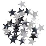 Flitter Streu Sterne 20g silber
