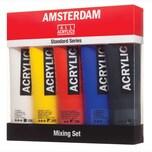 AMSTERDAM Acrylfarbe Set 5x120ml