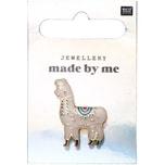 Jewellery Made by Me Pin Alpaca 21x30mm