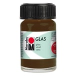 Marabu Glasfarbe 15ml kakao