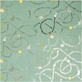 Paper Poetry Geschenkpapier Nostalgic Christmas Baumschmuck grün 80cm 2m Hot Foil