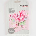 Gütermann Stoff Long Island Blumen rosa 70x100cm