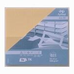 Artoz Tischkarte Serie 1001 220g/m² 5 Stück honiggelb