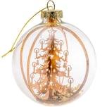 3D-Baumschmuck Weihnachtsbaum kupfer 8cm