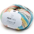 Rico Design Baby Dream Luxury Touch dk 50g 122m beere-blau