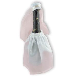 Flaschenkleid Braut 2teilig