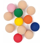 Rico Design Moosgummikugeln mehrfarbig 20mm 12 Stück