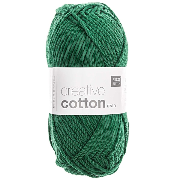 Rico Design Creative Cotton aran 50g 85m grün