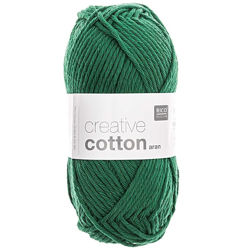 Rico Design Creative Cotton aran 50g 85m grün