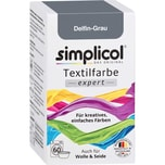 simplicol Textilfarbe expert 150g delfingrau