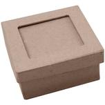 Rico Design Passepartout Box natur 14x14x7 cm