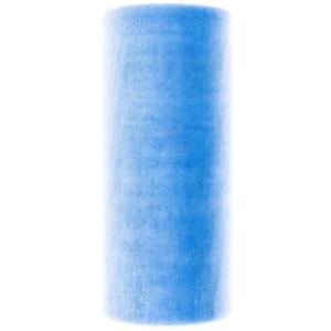 Dekostoff Organza 12cm 10m blau