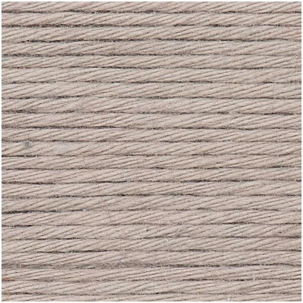 Rico Design Creative Cotton aran 50g 85m perlgrau
