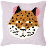 Rico Design Punch Needle Packung Kissen Leopard inkl. Punch Needle