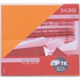 Artoz Tischkarte S-Line 200g/m² 5 Stück orange
