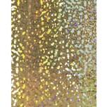 HEYDA Holografiekarton Sterne gold 50x70cm