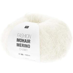 Rico Design Fashion Mohair Merino Chunky 50g 100m creme
