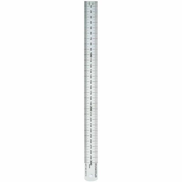 RUMOLD Lineal 30cm Stahl schwer