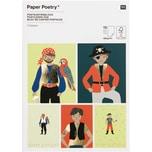 Paper Poetry Postkartenblock Pirat 400g/m² 15 Stück
