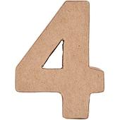 Rico Design 3D Pappzahl stehend 4