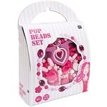 Rico Design Pop Beads Set rosa groß