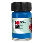 Marabu Glasfarbe 15ml ultramarinblau dunkel